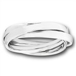 Stainless Steel 3-Band RING