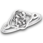 Stainless Steel Celtic Weave Ring
