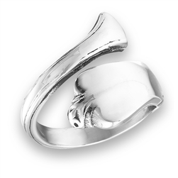 Stainless Steel Classic Spoon Ring