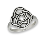 Stainless Steel Celtic Woven Knot Ring