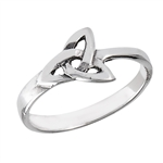 Sterling Silver Celtic Triquetra Ring
