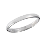 Sterling Silver 2 mm High Polish Band Ring
