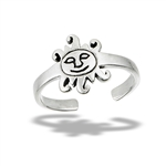 Sterling Silver Link Toe Ring