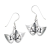 Sterling Silver Comedy Tragedy Earring