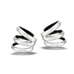 Sterling Silver Triple Band Ear Cuff