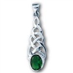 Sterling Silver Celtic weave Pendant