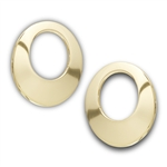 Stainless Steel Gold IP Earring