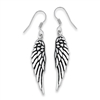 Stainless Steel Angel Wings Earring