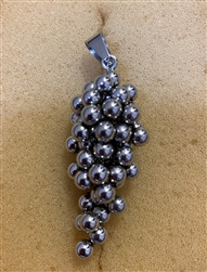 Stainless Steel Bunch Of Grapes Pendant