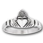 Stainless Steel Cladduagh Ring