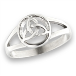 Stainless Steel Celtic Triquetra Ring