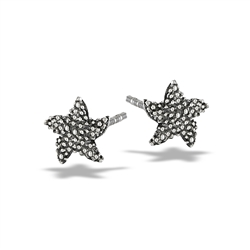 Sterling Silver Starfish Stud Earring