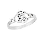 Sterling Silver Delicate Celtic Knot Ring