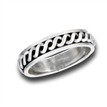 Sterling Silver Spinning Ring