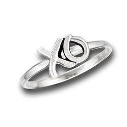 XO Hugs And Kisses Ring