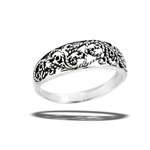 Sterling Silver Classic Filigree Ring