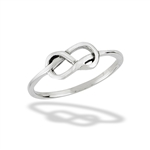 Sterling Silver Celtic Double Knot Ring