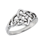 Sterling Silver Endless Celtic Knot Ring