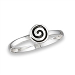 Sterling Silver Time Tunnel Ring