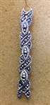 Sterling Silver Multiple Link Marcasite Post Earring