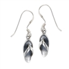 Sterling Silver Small Sandal Earring