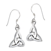 Sterling Silver Celtic Triquetra Dangle Earring