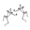 Sterling Silver Climbing Man Ear Cuff