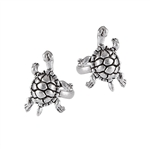 Sterling Silver Turtle Ear Cuff