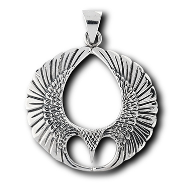 Sterling silver eagle pendant mozeypictures Gallery