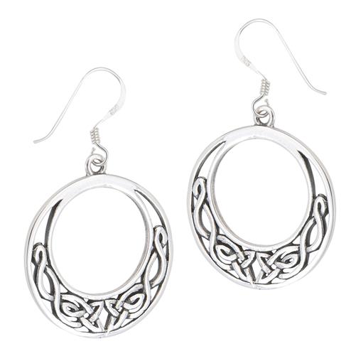 Sterling silver Celtic Earring