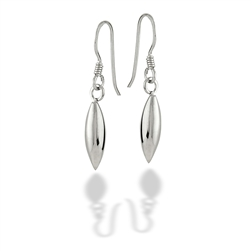 Sterling Silver High Polish Dangle Earring